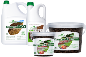 For soil improving and composting