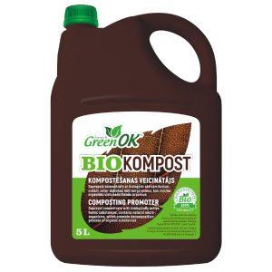 BIO kompost kompostēšanas veicinātājs 5 litri