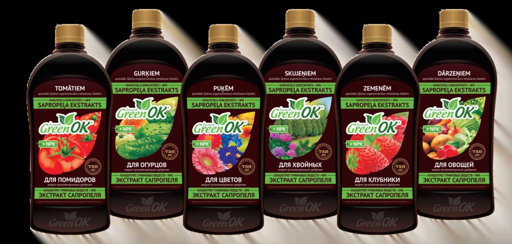 Green OK Sapropela meslojums 750 ml