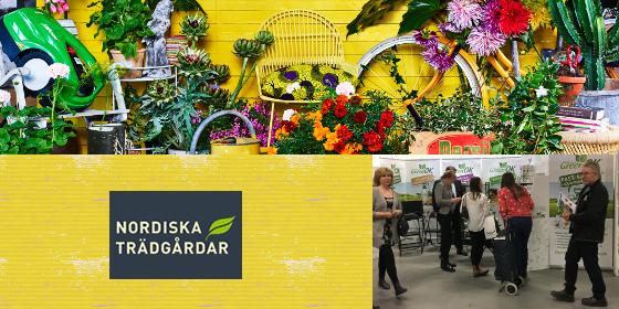 Green OK izstādē Nordic Gardens /Nordiska Trädgårdar
